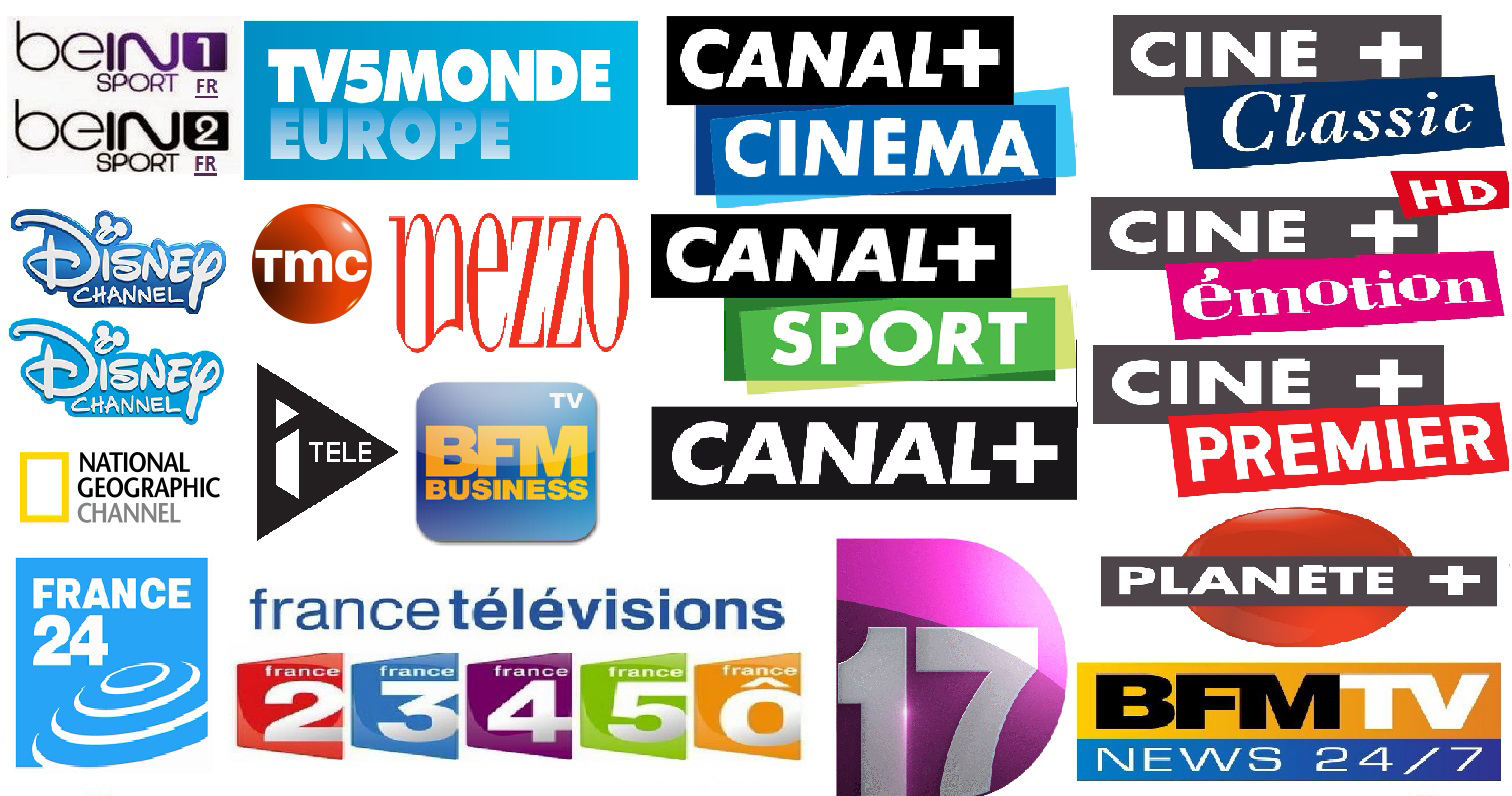 France TF1 ligue1 bein sports ocs iptv channels